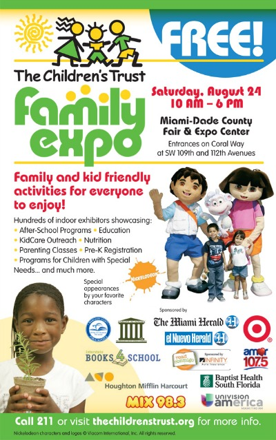 The Children's Trust Family Expo This Saturday!