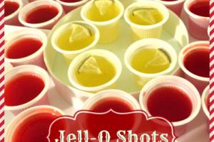 Abuela's Christmas Jell-O Shots