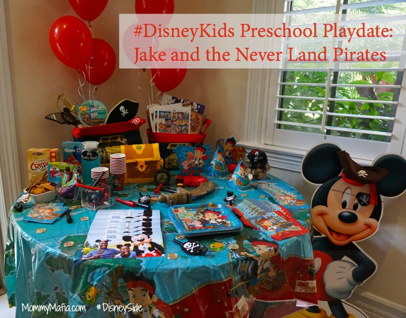 DisneyKids Preschool Playdate Jake DisneySide mommymafia.com