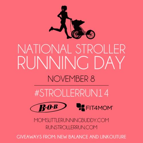National Stroller Running Day #StrollerRun14