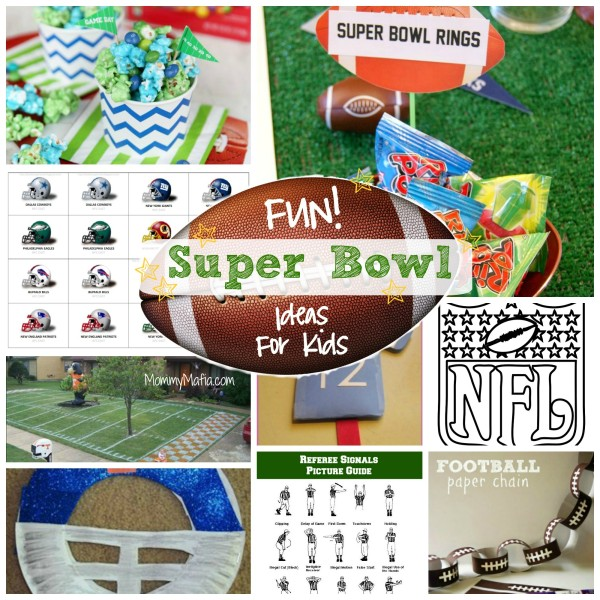 fun super bowl ideas for kids crafts activities and more for the