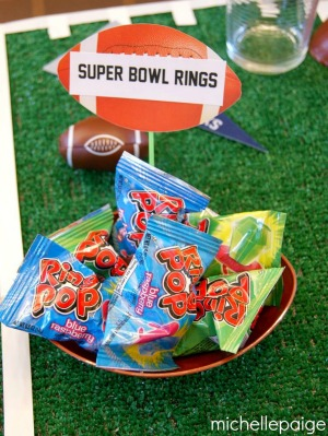 Super Bowl Rings Ring Pops