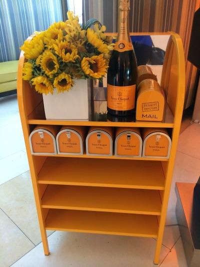 Veuve Clicquot Mail box mommymafia.com