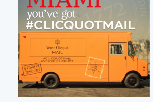Well, There Was This One Time I Stalked Veuve Clicquot…