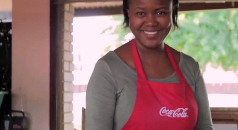 Learn how The Coca-Cola Company is empowering 5 million women. #5by20 MommyMafia.com