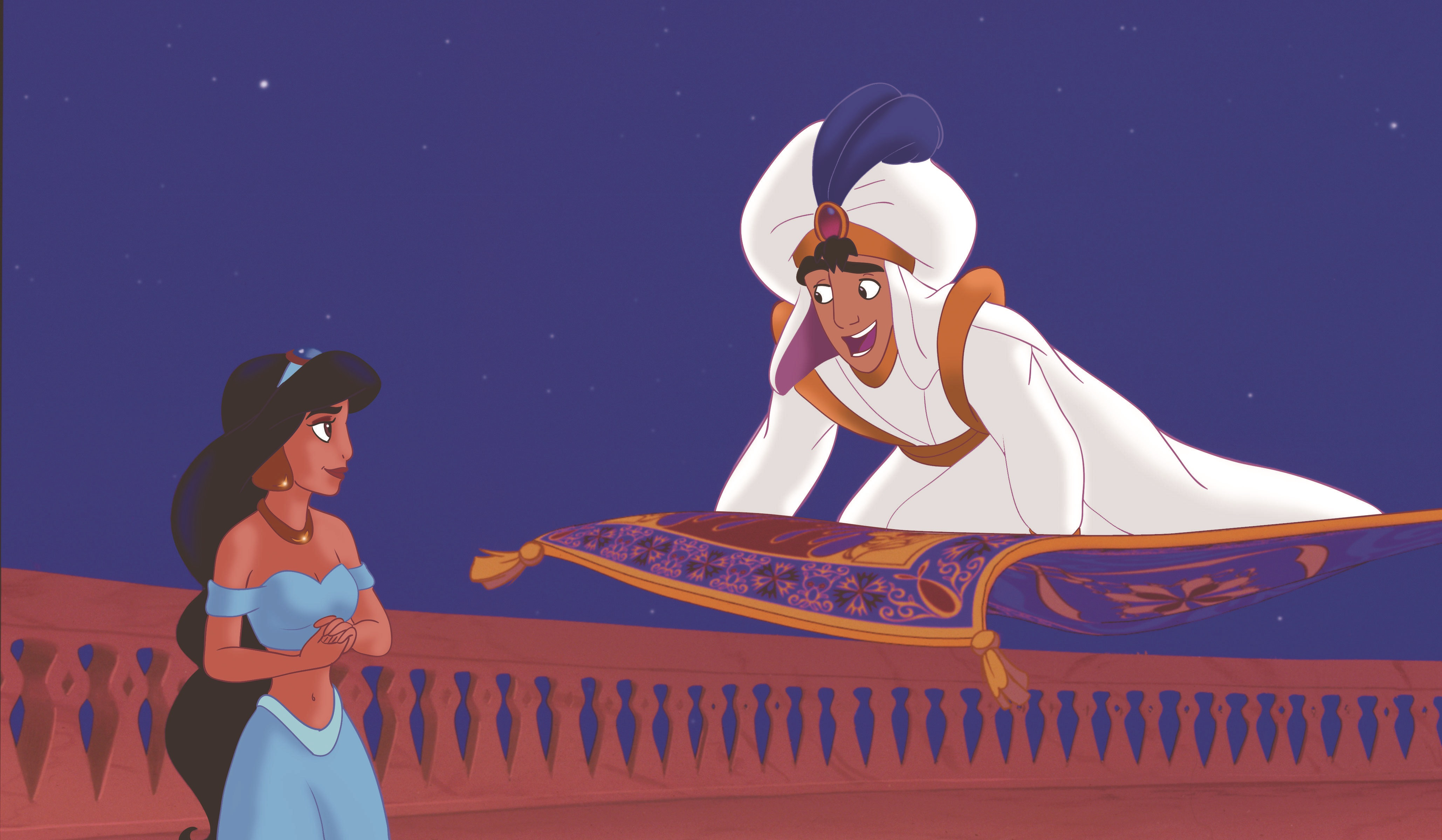 Aladdin Jasmine The Genie Are Back Free Disney Coloring Pages Activity Sheets