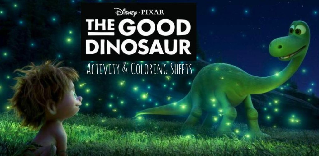 The Good Dinosaur Free Coloring Pages MommyMafia
