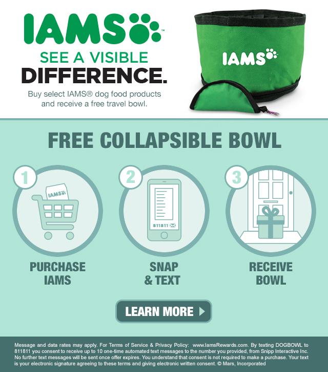 IAMS Dog Bowl MommyMafia.com
