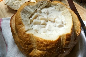 Fall Comfort Foods: Easy Bread Bowls & Soup