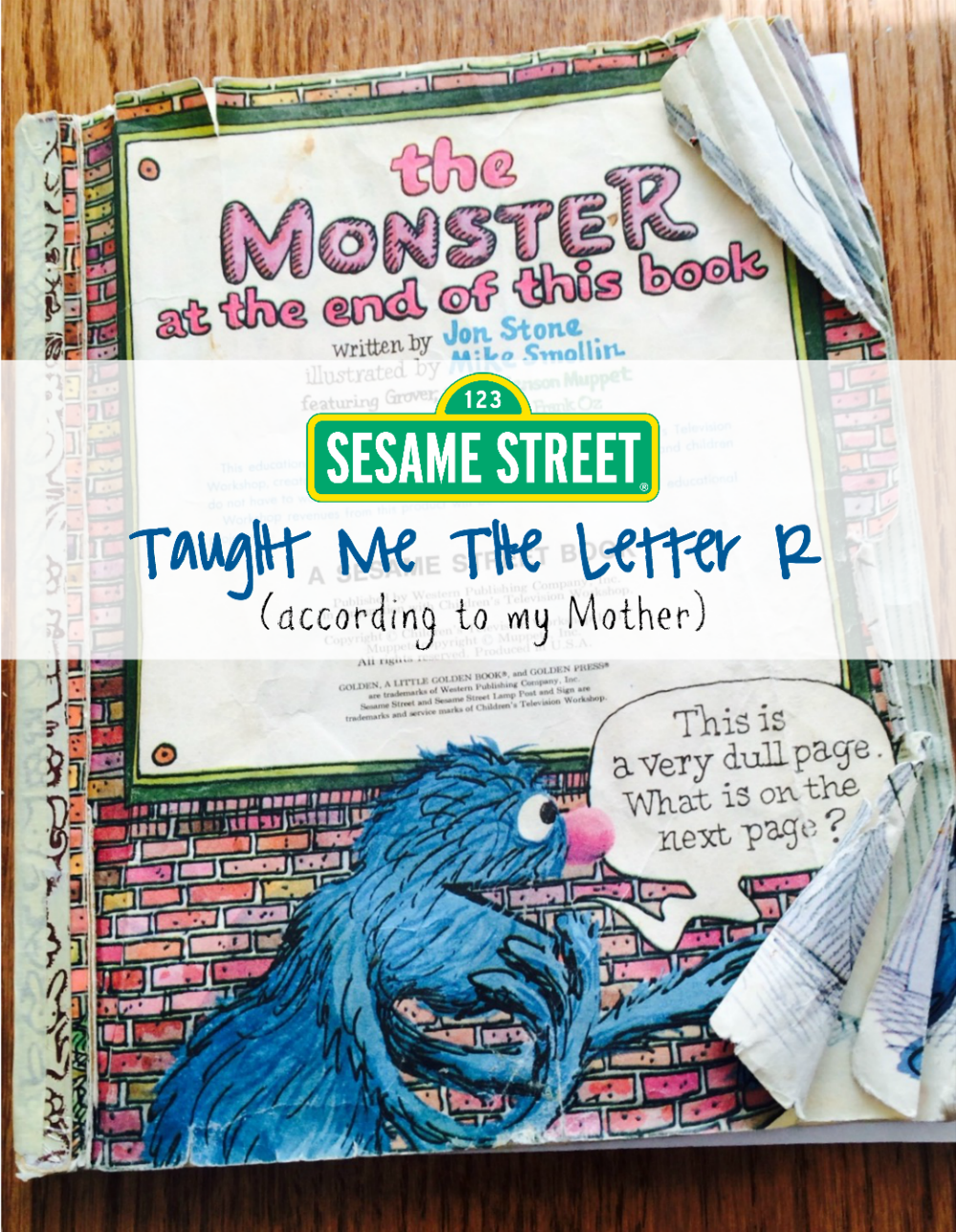 Sesame Street Taught Me The Letter R and my other favorite Sesame Street Memories