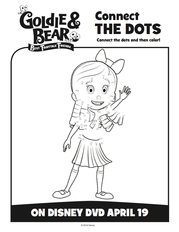 Printable Coloring Pages For Goldilocks And The Three Bears Free Goldie Bear