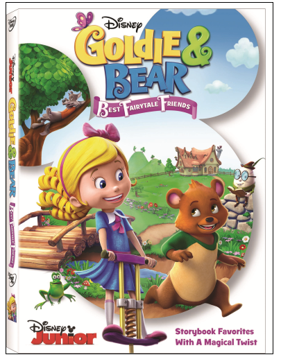 Free Goldie and Bear Coloring Pages