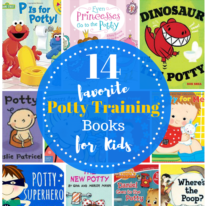 P Is For Potty! 14 Favorite Potty Training Books For Kids