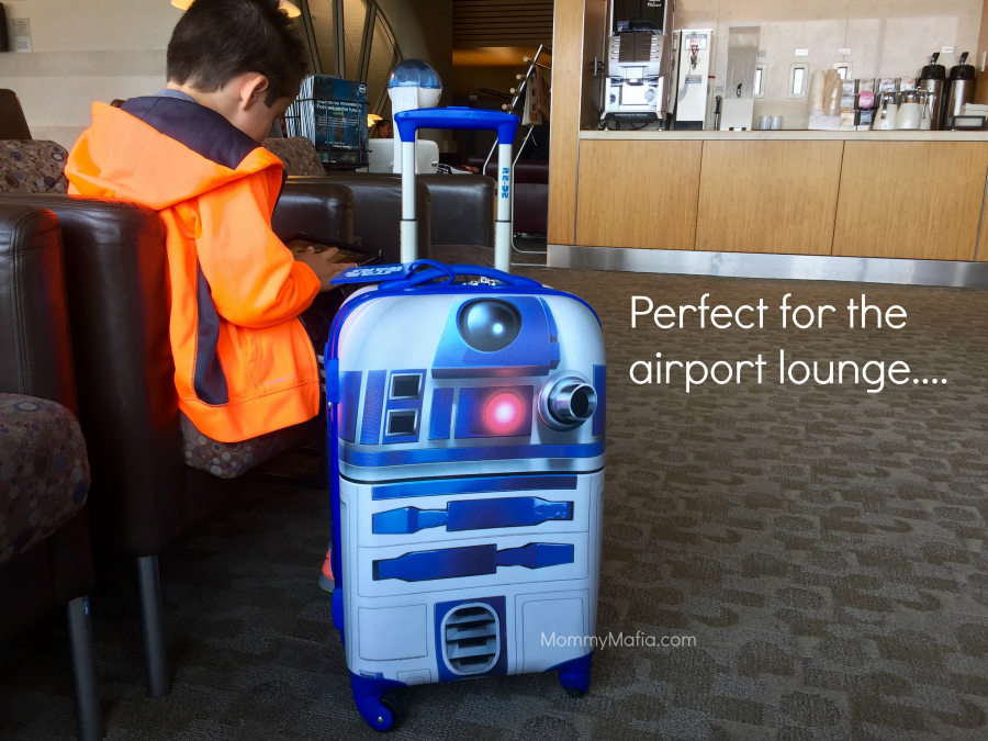 r2d2 suitcase for kids