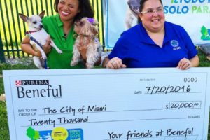 Beneful Donates $20,000 To Local Miami Dog Park
