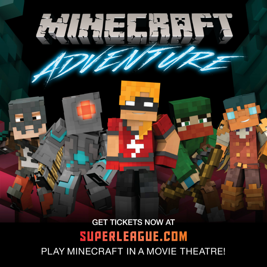 Minecraft At The Movies! Get Your Super League Promo Code HERE