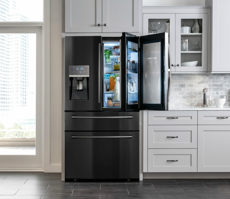 Bringing Sexy Back To The Kitchen. Samsung's Black Stainless Steel Appliances