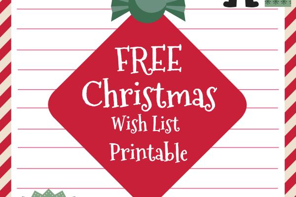 free christmas wish list; free christmas wish list printable; mommy mafia; miami blogger