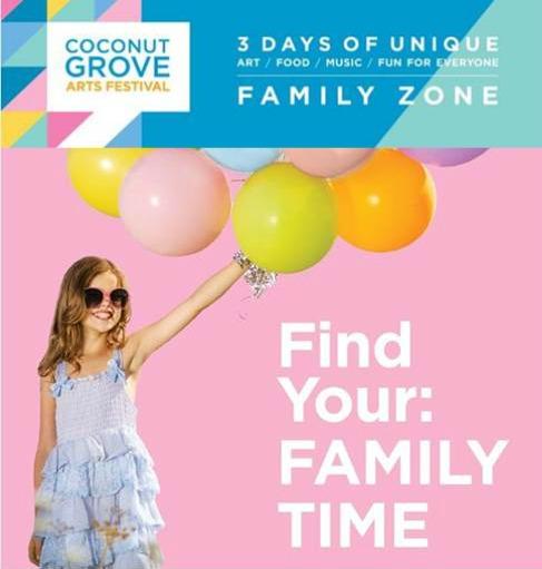 Coconut Grove Arts Festival Family Zone