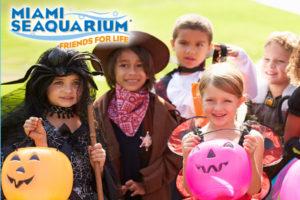 Miami Seaquarium Halloween Monster Splash Bash